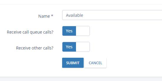 Custom Agent Statuses